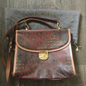 Large Paisley Escada Kelly Style Bag